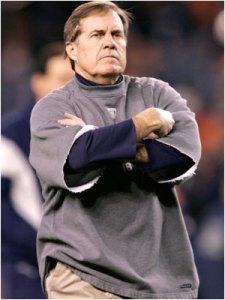 I am sure Belichick was not pleased to lose to Rex Ryan!