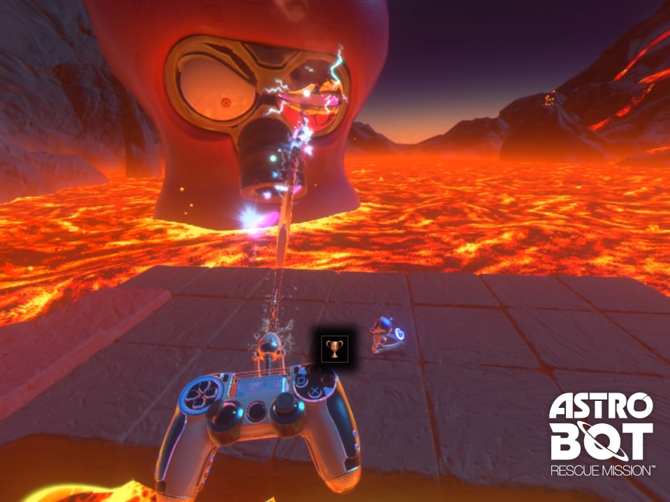 Astro Bot Rescue Mission Boss Gameplay