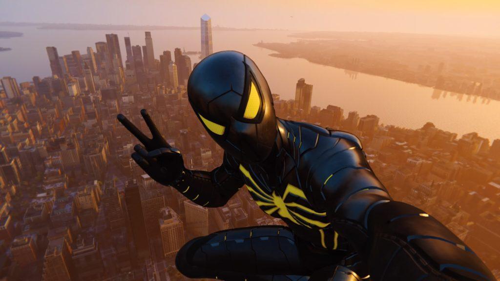 Spider-Man technique