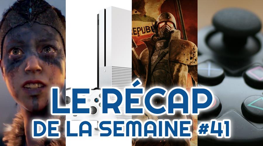 Le récap de la semaine #41 : Hellblade Senua's Sacrifice, Xcloud, Obsidian, Playstation 5