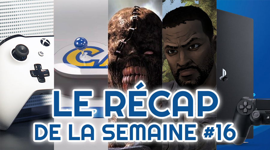 Le récap de la semaine #16 : Xbox Inside, Capcom Home Arcade, Resident Evil 3, The Walking Dead, Playstation 5