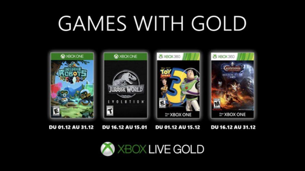 games with gold décembre 2019