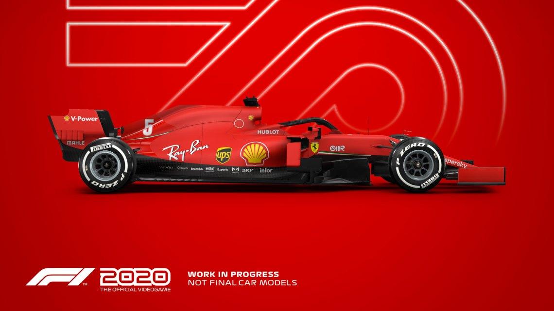 F1 2020 entre en piste