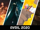 calendrier des sorties avril 2020