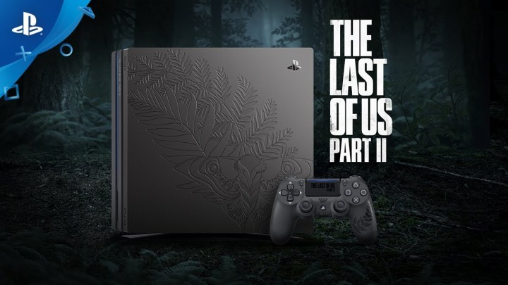 Une Playstation 4 Pro aux couleurs de The Last Of Us Part II présentée