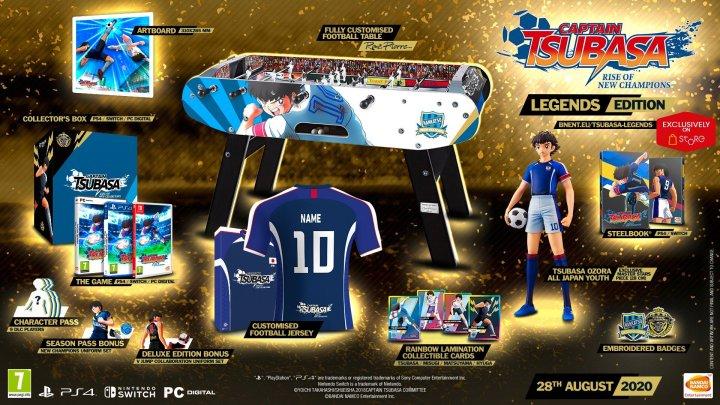 Captain Tsubasa : Rise Of New Champions se date et présente ses collectors
