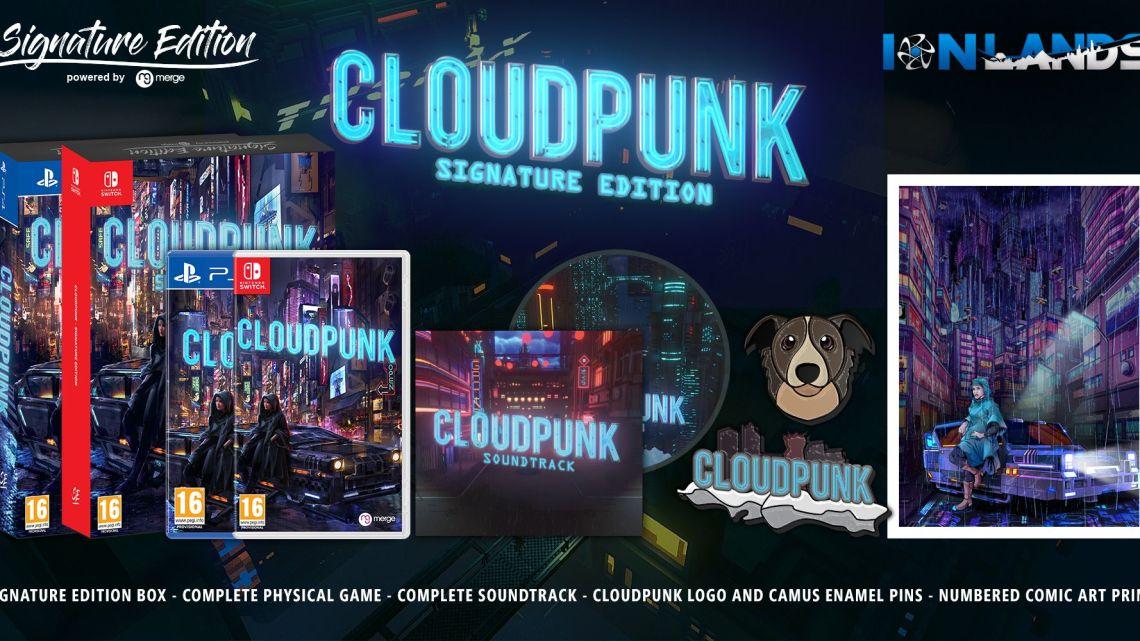 Cloudpunk s'offre une sortie en boîte sur PS4 et Nintendo Switch