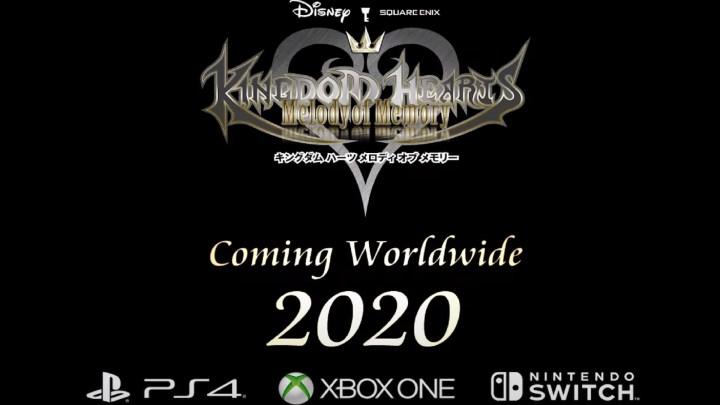 Kingdom Hearts : Melody Of Memory annoncé