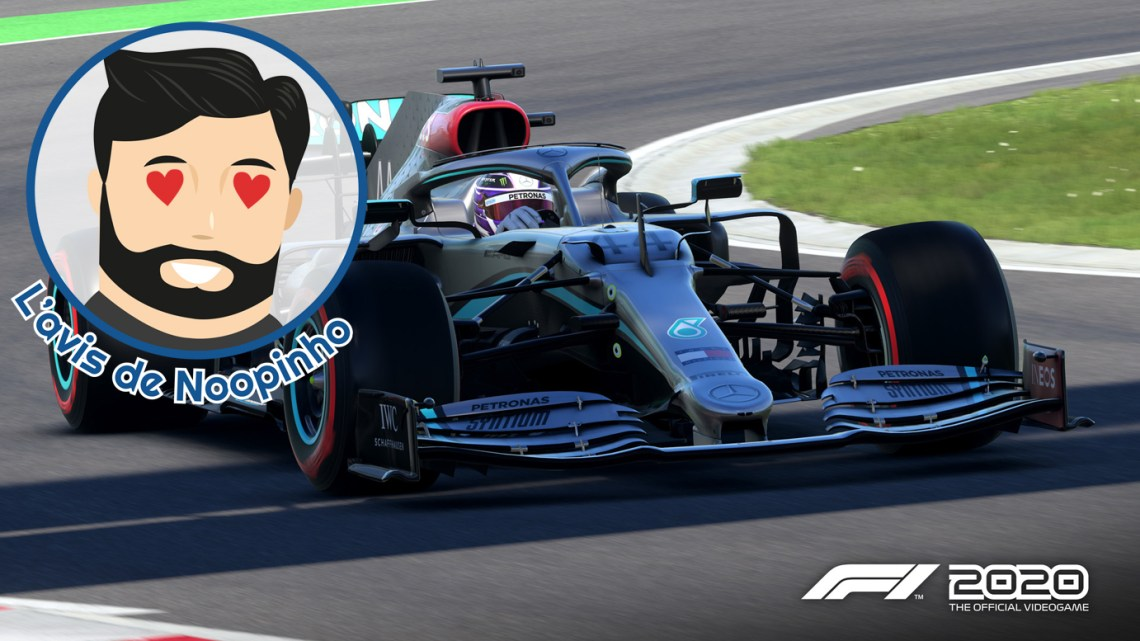 L'avis de Noopinho : F1 2020, la simulation au sommet de son art