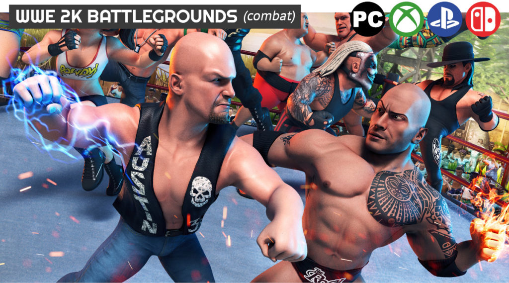 WWE 2K Playgrounds