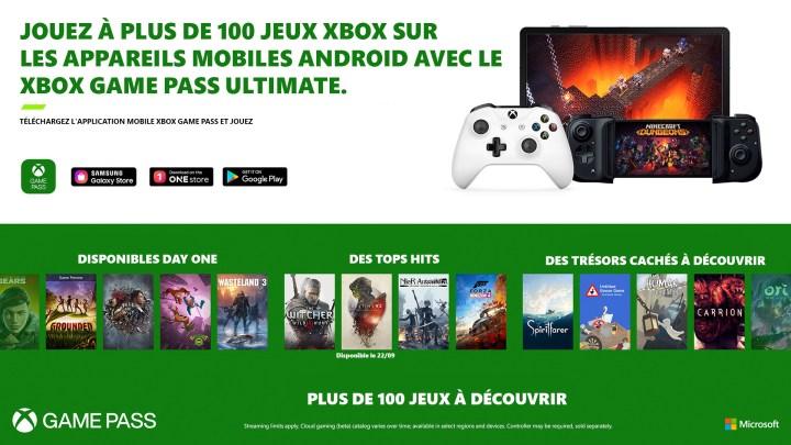 Le Cloud Gaming Xbox disponible dès aujourd'hui