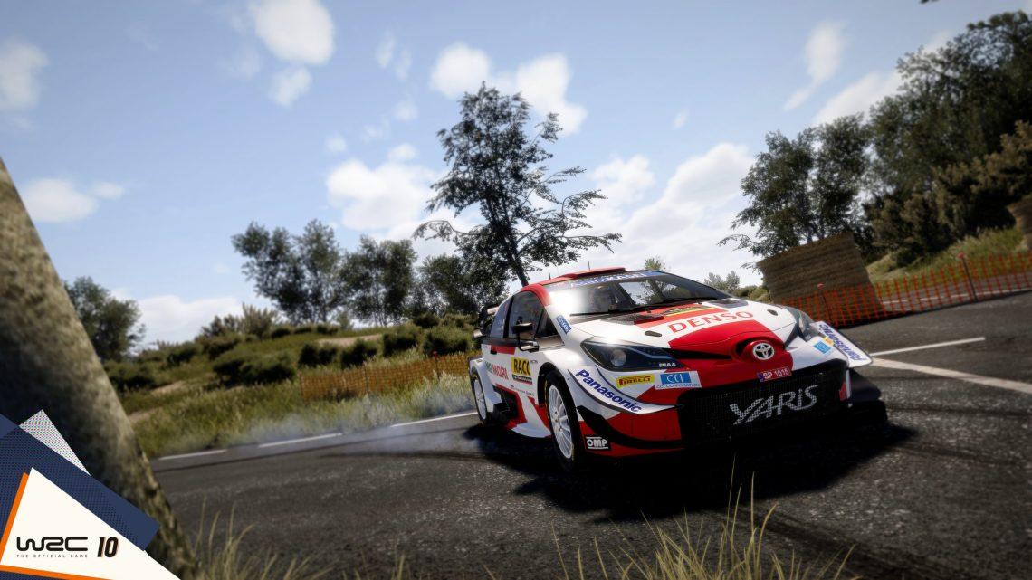 WRC 10 annoncé avec un trailer