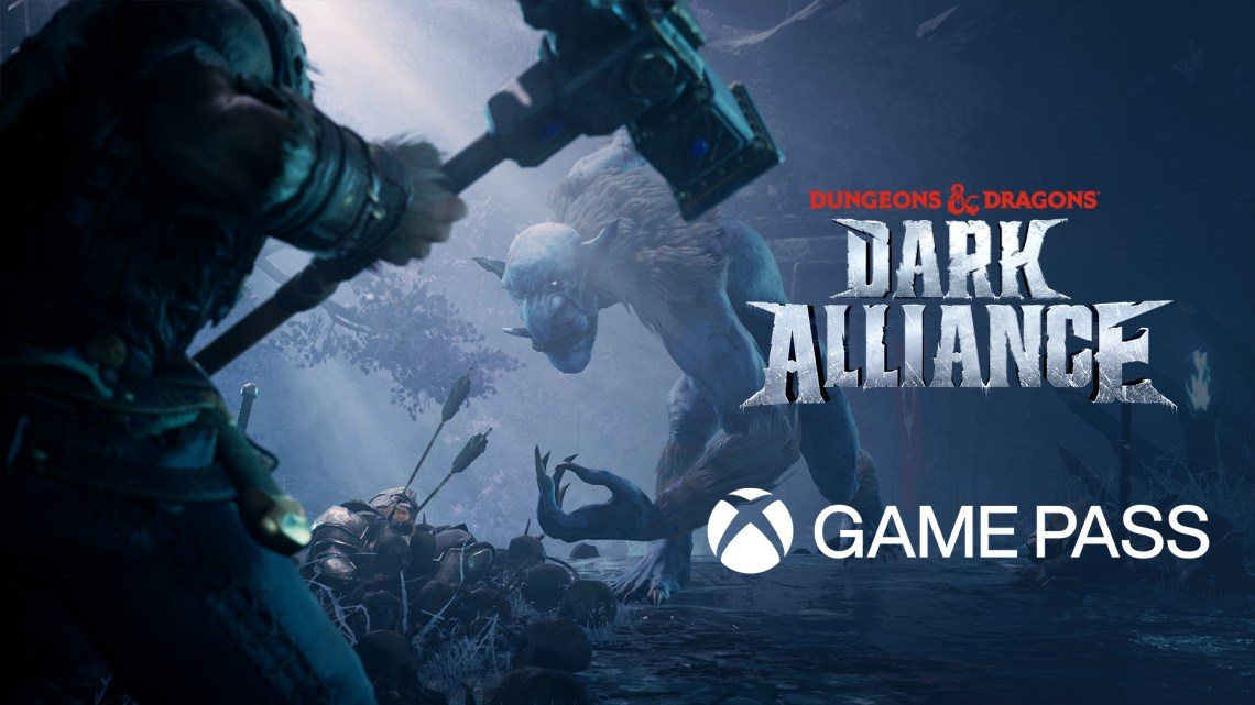 Dungeons & Dragons : Dark Alliance day one dans le Xbox Game Pass
