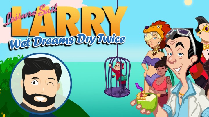 Le mini-avis de Noopinho : Leisure Suit Larry Wet Dreams Dry Twice, graveleux mais efficace