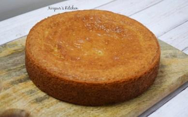 eggless vanilla cake 2