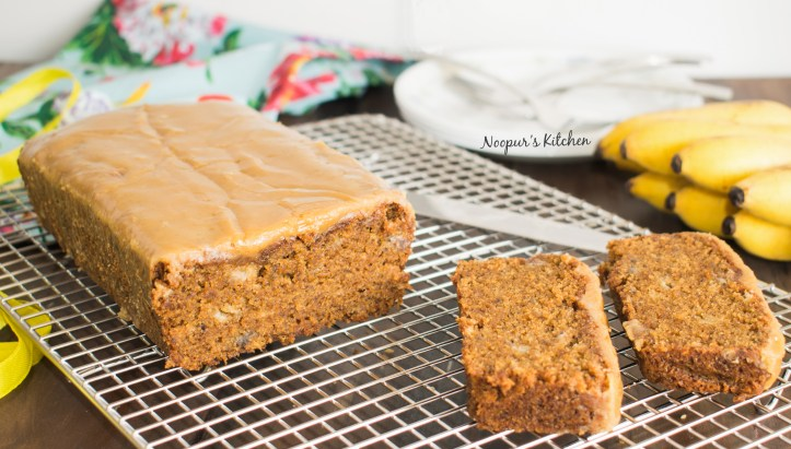 Caramel & Coffee Banana Bread