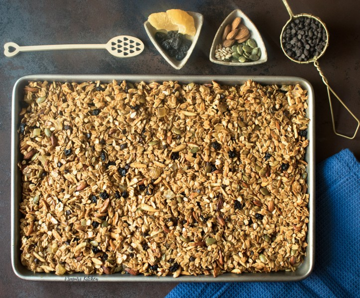 Homemade Healthy Granola