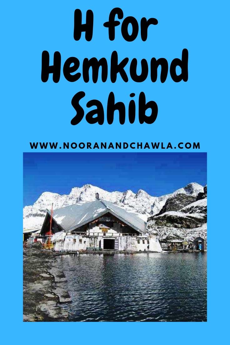 H for Hemkund Sahib