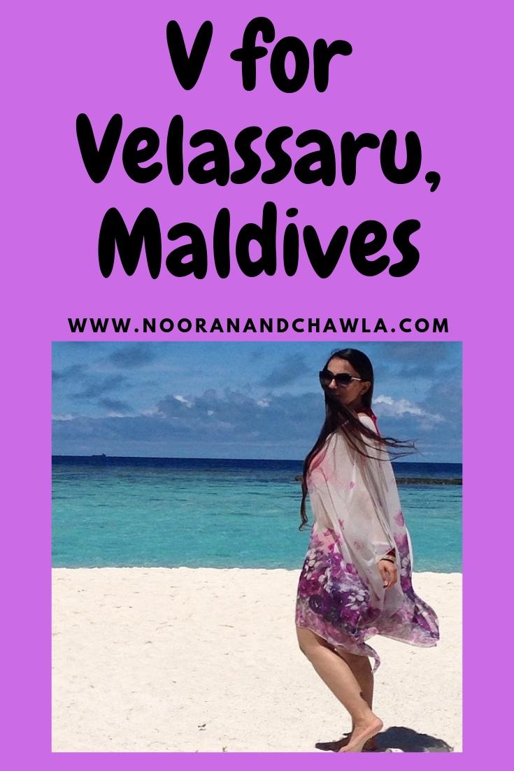 V for Velassaru, Maldives