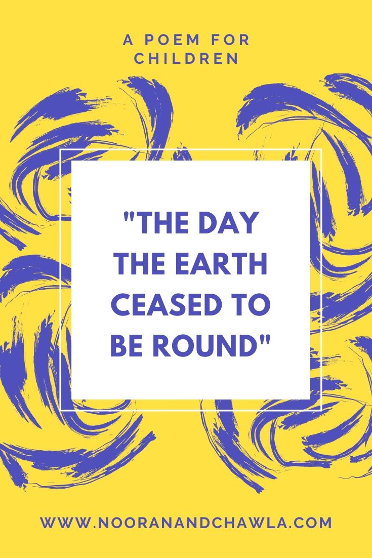 The Earth Ceased to be Round