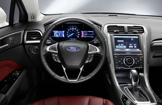 2018 Ford Mondeo Vignale interior