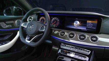 2018 Mercedes-Benz S-Class Coupe technology