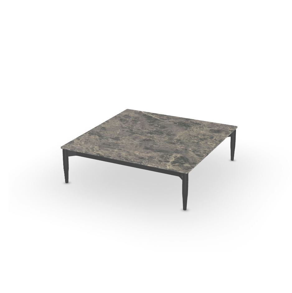 table basse marguerite xeramica 100x100cm joli