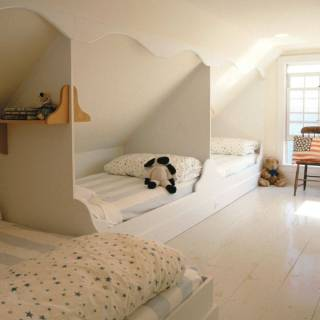 Attic Bedroom Designs Luxury Built In attic Beds