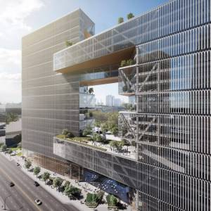 """Building Green Homes Luxury som Designs Buenos Aires Office Building with """"urban Window"""
