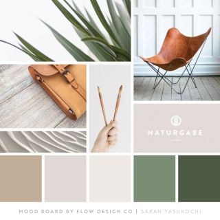 Color Mood Unique Earth tones Mood Board