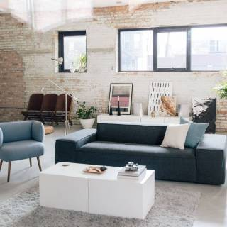 Design Your Living Room Inspirational This Living Room Features Two Pieces Of Custom Furniture Awesome This Living Room Features Two Pieces Of Custom Furniture