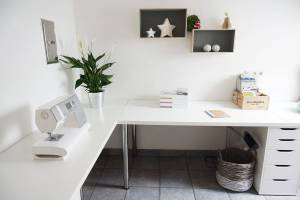 Desk Design Awesome Minimalist Corner Desk Setup Ikea Linnmon Desk top with