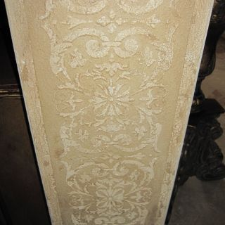 Faux Paint Elegant Raised Cracked Plaster Stenciled Arches