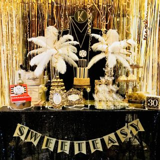 Great Gatsby Decoration Ideas Inspirational Great Gatsby Party Sweet Bar