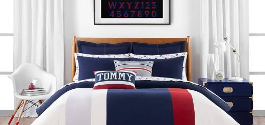 King Size Comforters Awesome Amazon tommy Hilfiger Clash Of 85 Stripe Bedding