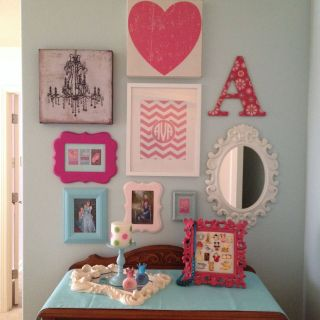Little Girl Bedroom Decor Luxury Girls Room Gallery Wall