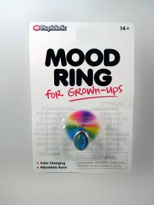 Mood Color Meanings Luxury Mood Ring for Grown Ups