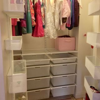 Professional Closet organizer Best Of Little Girl S Elfa Clothes Closet by Professional organizer