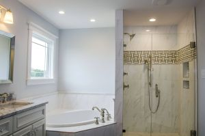 Small Bathroom Designs with Tub Lovely Love This Glam Master Suite Bathroom with A Separate Tub