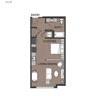 Studio Apartment Floor Plans Lovely Studio Apartment Floor Plan Design Awesome Studio E and Two