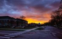 Ottawa Hills school sunrise II