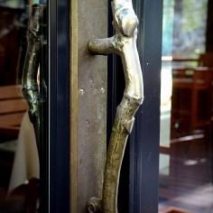 Attention to Details ~ Brass Branch Door Handle