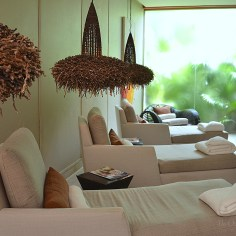 Spa Indoor Relaxing Area