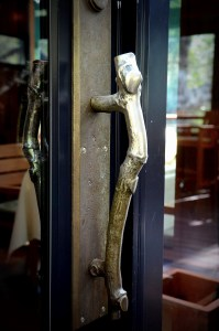 Attention to Details ~ Brass Branch Door Handle