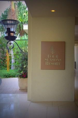Four Seasons Entrance