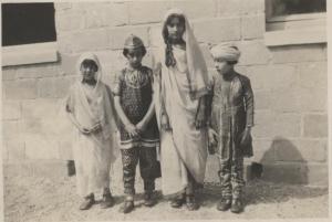 Khairunissa, Vilayat, Noor, and Hidayat. Summer 1926