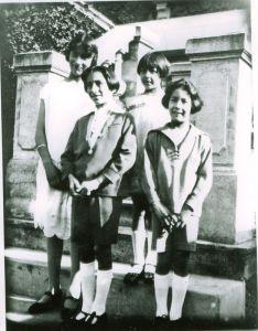 Noor, Vilayat, Khairunissa, and Hidayat. Summer, 1926