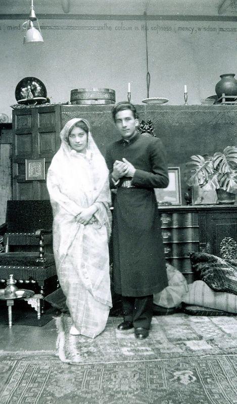 Noor and Vilayat. 1937, The Hague, The Netherlands