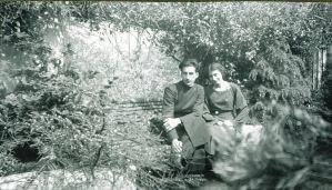 Noor and Vilayat, 1937, The Hague, The Netherlands