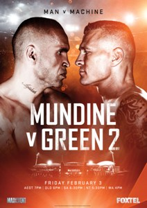 Mundine Green Fight @ Diggers Bar | Tewantin | Queensland | Australia